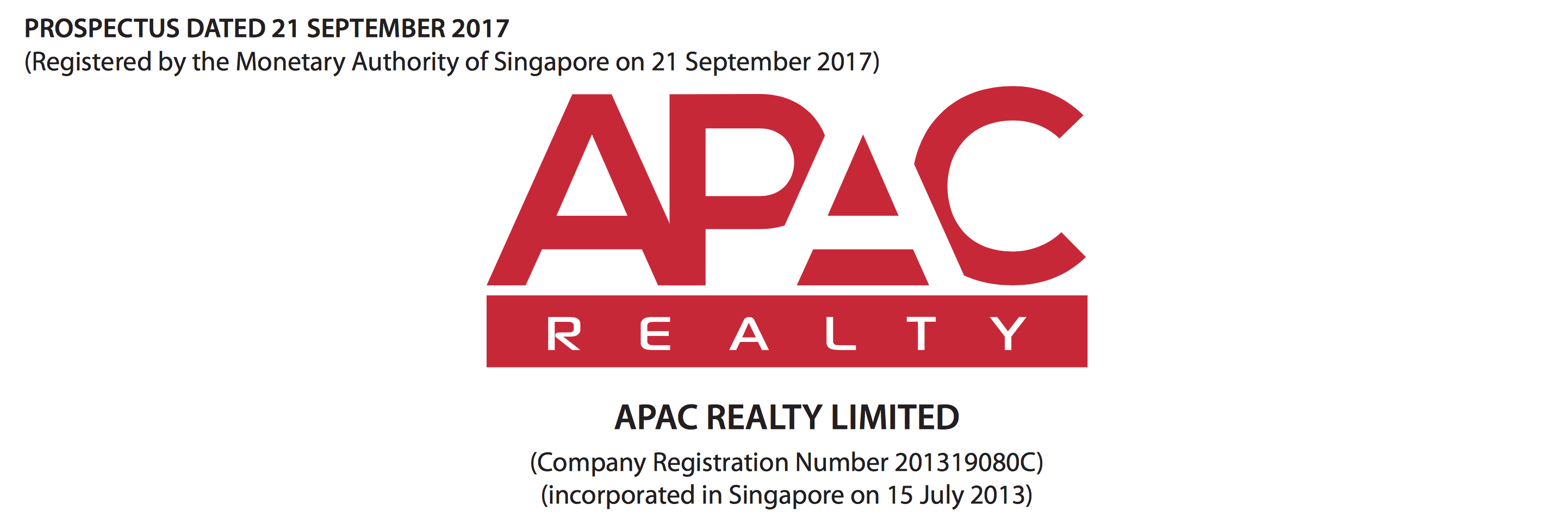 Apac realty share price ipo