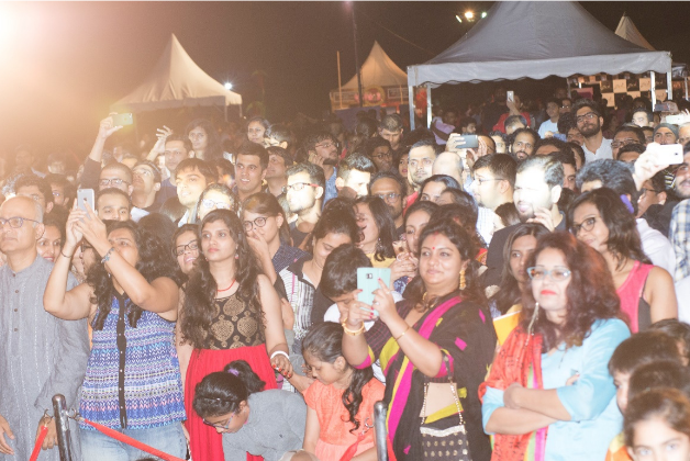 The 10,000 people attended Yuuzoo's BIG event headlined by popular Indian Artist.