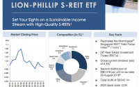 Lion-Phillip SREIT ETF Quarter Report (Sep 2018)